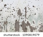 old dirty white paint cement... | Shutterstock . vector #1090819079