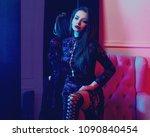 fashion full length portrait... | Shutterstock . vector #1090840454
