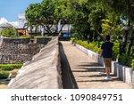 castle of fort san pedro in...   Shutterstock . vector #1090849751