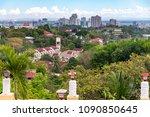 cebu city view from taoist...   Shutterstock . vector #1090850645