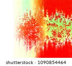 musical notes background | Shutterstock . vector #1090854464