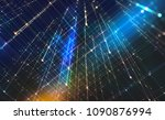 abstract tech background... | Shutterstock . vector #1090876994