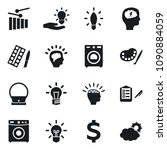 set of simple vector isolated... | Shutterstock .eps vector #1090884059