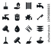 set of simple vector isolated... | Shutterstock .eps vector #1090888835