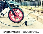 close up of an electric... | Shutterstock . vector #1090897967