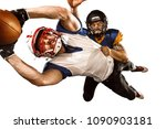 active two american football... | Shutterstock . vector #1090903181