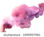 abstract pink hand drawn... | Shutterstock . vector #1090907981