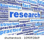 research poster design.... | Shutterstock . vector #109092869