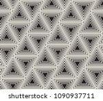 vector seamless pattern. modern ... | Shutterstock .eps vector #1090937711