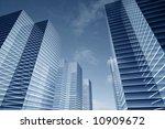 skyscrapers business concept | Shutterstock . vector #10909672