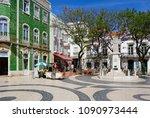 lagos  portugal   june 9  2017  ... | Shutterstock . vector #1090973444
