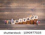 privacy  gdpr. general data... | Shutterstock . vector #1090977035