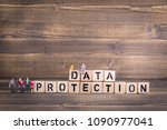 gdpr. general data protection... | Shutterstock . vector #1090977041