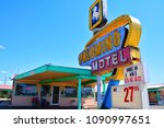 tucumcari  new mexico   july 21 ... | Shutterstock . vector #1090997651