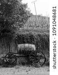 Wine Barrel Cart