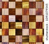 parquet floor texture  3d...   Shutterstock . vector #1091079545