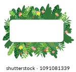 vector cartoon style background ... | Shutterstock .eps vector #1091081339