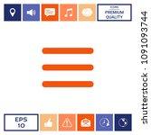 menu icon symbol