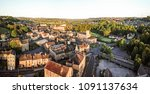 aerial view of west vale from... | Shutterstock . vector #1091137634