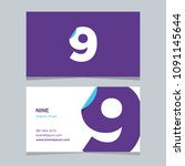 """logo number """"9""""  with business... 