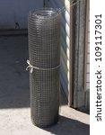 a roll of mesh | Shutterstock . vector #109117301