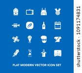 modern  simple vector icon set... | Shutterstock .eps vector #1091174831