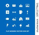 modern  simple vector icon set...   Shutterstock .eps vector #1091177861