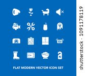 modern  simple vector icon set... | Shutterstock .eps vector #1091178119