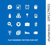 modern  simple vector icon set...   Shutterstock .eps vector #1091179031
