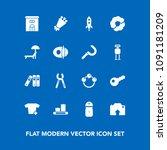 modern  simple vector icon set... | Shutterstock .eps vector #1091181209
