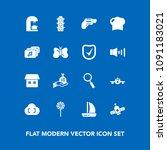 modern  simple vector icon set...   Shutterstock .eps vector #1091183021