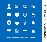 modern  simple vector icon set... | Shutterstock .eps vector #1091183051