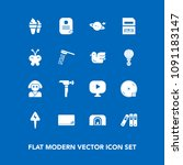 modern  simple vector icon set... | Shutterstock .eps vector #1091183147