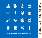 modern  simple vector icon set... | Shutterstock .eps vector #1091183345