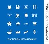 modern  simple vector icon set... | Shutterstock .eps vector #1091185589