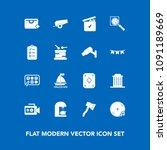 modern  simple vector icon set...   Shutterstock .eps vector #1091189669