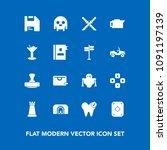 modern  simple vector icon set...   Shutterstock .eps vector #1091197139