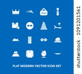 modern  simple vector icon set... | Shutterstock .eps vector #1091201561