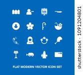 modern  simple vector icon set... | Shutterstock .eps vector #1091204801