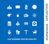 modern  simple vector icon set... | Shutterstock .eps vector #1091207255