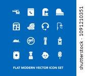 modern  simple vector icon set...   Shutterstock .eps vector #1091210351