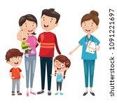 vector illustration of health...   Shutterstock .eps vector #1091221697