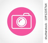 photo icon isolated on white...   Shutterstock .eps vector #1091235764