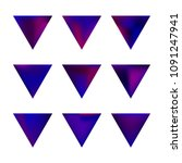 vector gradient reverse... | Shutterstock .eps vector #1091247941