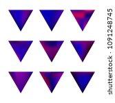 vector gradient reverse... | Shutterstock .eps vector #1091248745
