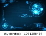 vector background in the... | Shutterstock .eps vector #1091258489