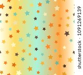 star pattern. seamless vector...   Shutterstock .eps vector #1091269139