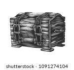 vector engraved style... | Shutterstock .eps vector #1091274104