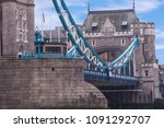 england's famous historical... | Shutterstock . vector #1091292707