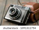 old fashioned vintage film... | Shutterstock . vector #1091311754